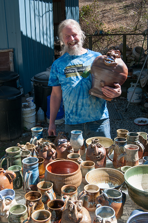 We got over 700 amazing pots from one firing!